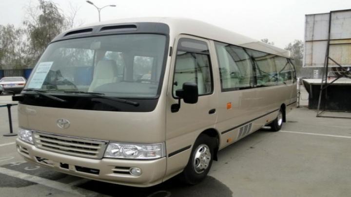【图】新款丰田考斯特11座12座客车 山东丰田考斯特优惠5万