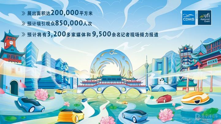 2021成都国际车展将于8月27日开幕 为期10天