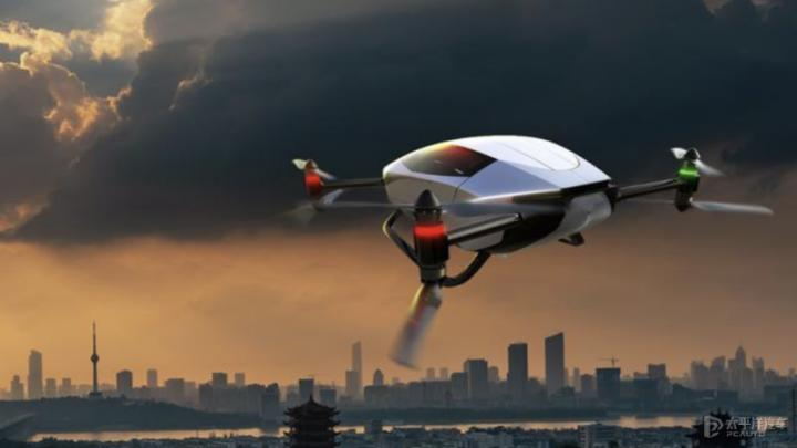 小鹏汇天旅航者X2曝光 最高飞行时速达130km/h