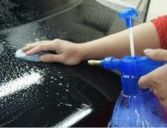 洗车+3M犀牛泥去虫胶树胶