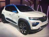 雷诺City K-ZE量产版将亮相上海 率先在华上市
